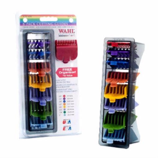 WAHL Pro Colour-Coded 8-Pcs Attachment Combs (3170-500)