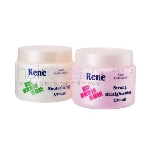 Rene Strong Straightening & Neutralizer Cream (500mlx2)