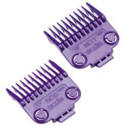 Andis Nano-Silver Magnetic Comb Set #01900 (2pcs)