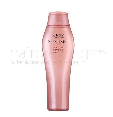 Shiseido Sublimic Airy Flow Shampoo Unruly Hair