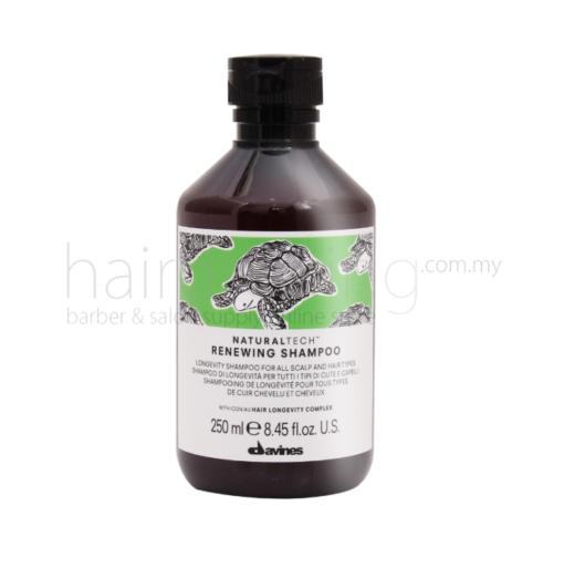 Davines NaturalTech Renewing Shampoo (Green) (250ml)