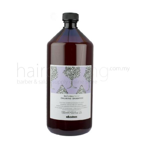 Davines NaturalTech Calming Shampoo (Purple) (1000ml)