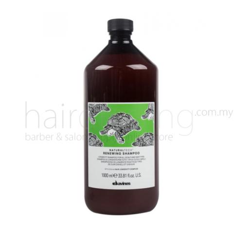 Davines NaturalTech Renewing Shampoo (Green) (1000ml)