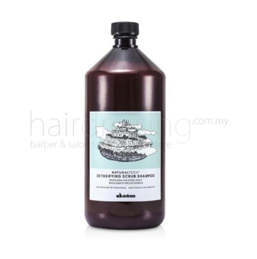 Davines NaturalTech Depolluting Scrub Shampoo (Light Green) (1000ml)