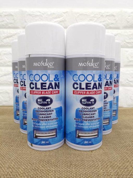 Mosuko Cool & Clean Clipper Blade Care (380ml)