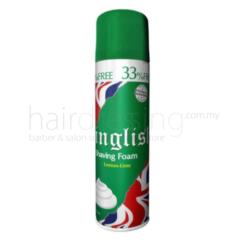 Inglish Shaving Foam Lemon-Lime (Green) - 400ML