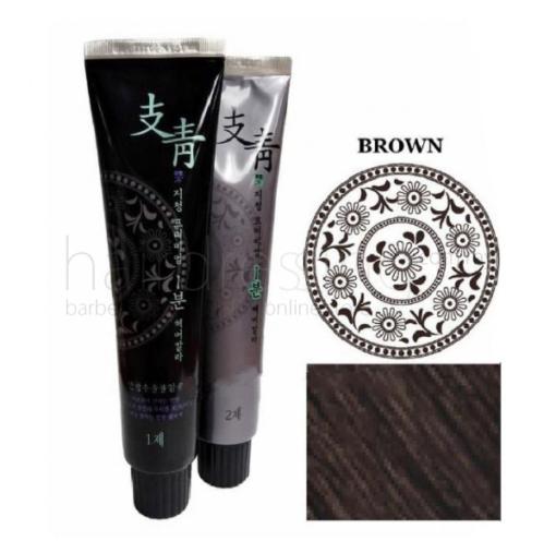 Ji Chung Pro Premium 1-Minute Hair Color (Brown) - 120G
