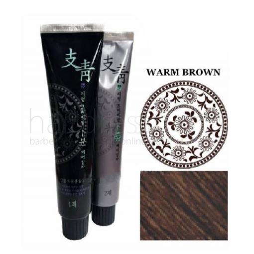 Ji Chung Pro Premium 1-Minute Hair Color (Warm Brown)