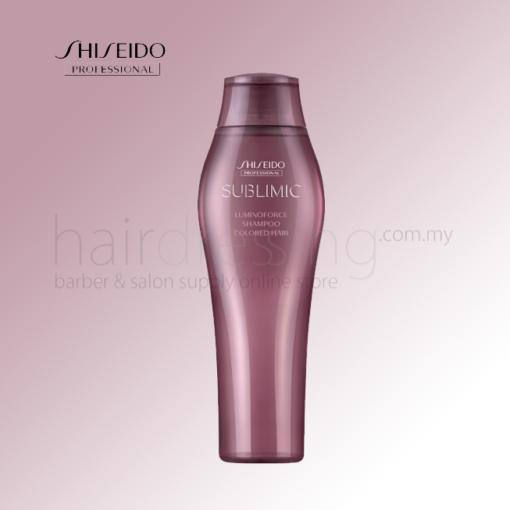 Shiseido Sublimic Luminoforce Shampoo Coloured Hair
