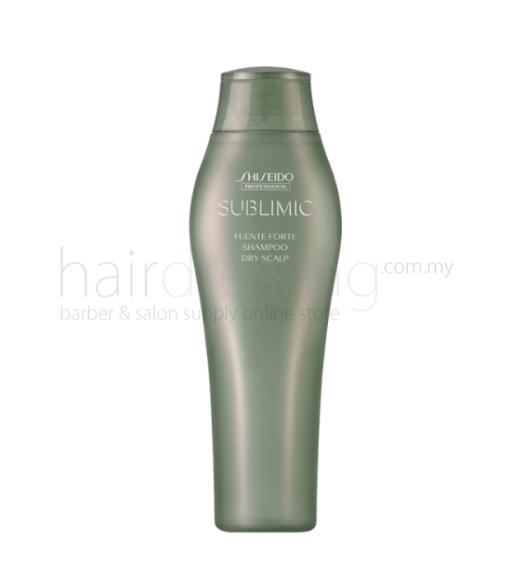 shiseido professional sublimic fuente forte shampoo (dry scalp) 250ml 1