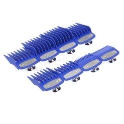 Premium Attachment Guides for WAHL Clipper 8 In 1 (Blue)