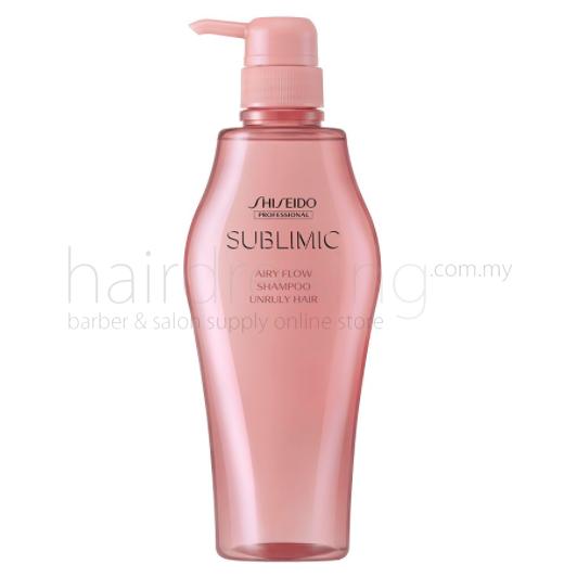 Shiseido Professional Sublimic Airy Flow Shampoo Unruly Hair