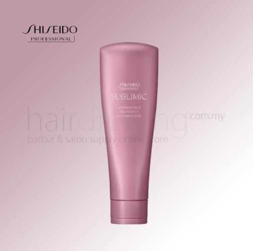 Shiseido Sublimic Luminoforce Treatment Coloured Hair