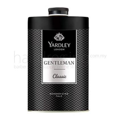 Yardley London Deodorising Talc Gentleman Classic Black