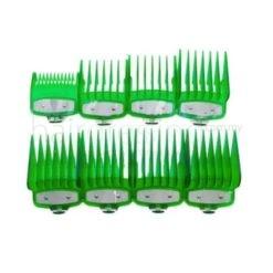 Premium Attachment Guides for WAHL Clipper 8 In 1 (Green)