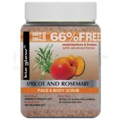 Bio Glow Apricot Rosemary Scrub