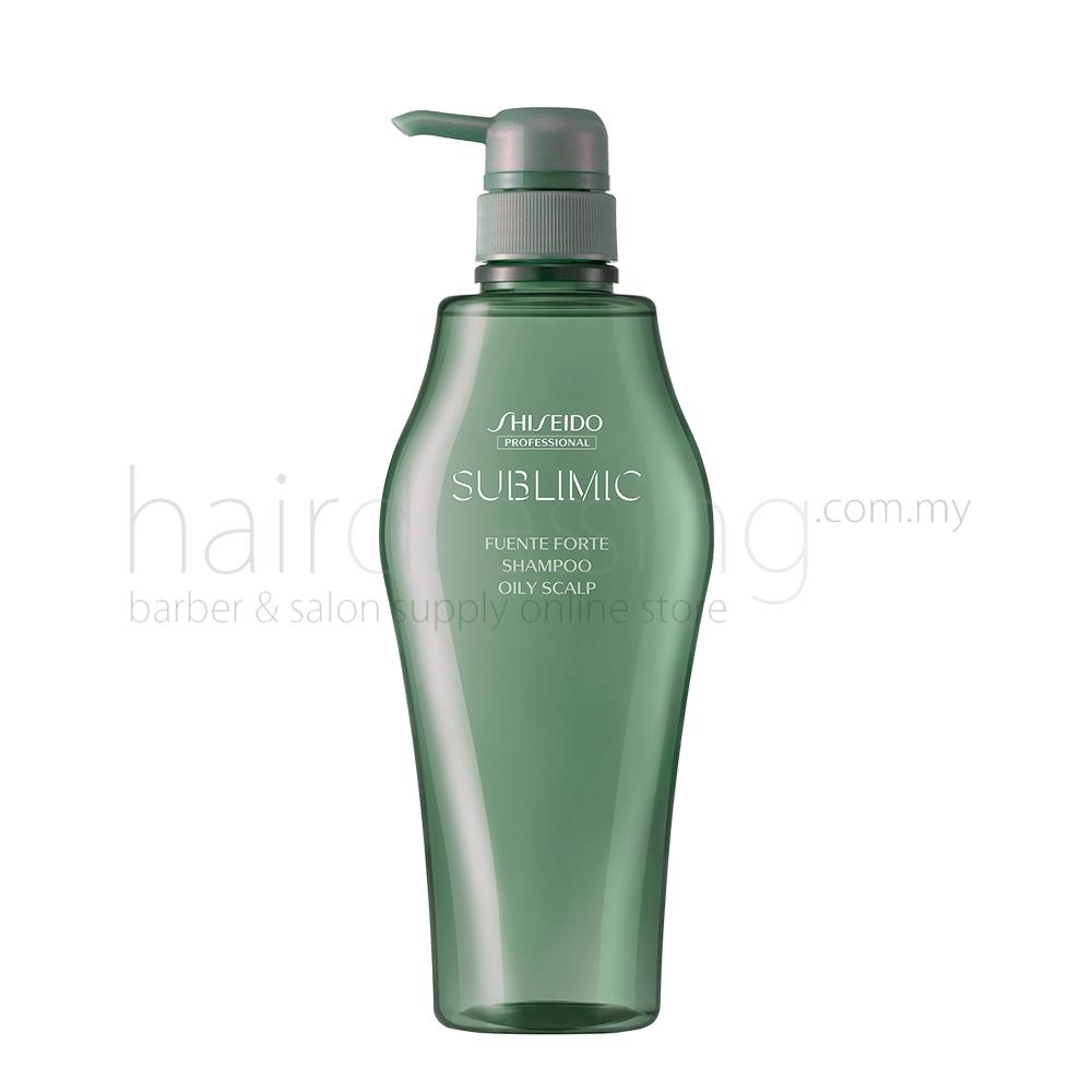 Shiseido Professional Sublimic Fuente Forte Shampoo (Oily Scalp) 500ml