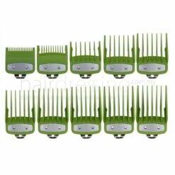 Premium Attachment Guides for WAHL Clipper 10 In 1 (Green)
